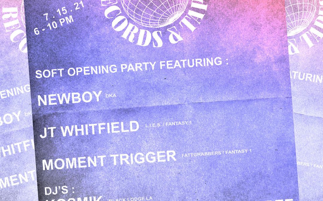 MOMENT TRIGGER LIVE @ RUBYCON RECORDS